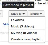 """The """"save to"""" options"""