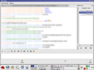 Accessing MSN using Gaim (2005)