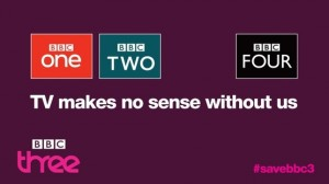 The image used by the Save BBC campaign