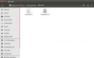 Browsing the file system using Nautilus on Ubuntu