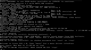 Softlanding Linux System (SLS) - The first Linux distribution.