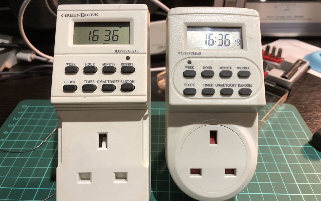 Repairing a mains powered timer